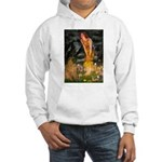 Fairies / Shar Pei Hooded Sweatshirt