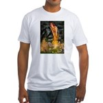 Fairies / Shar Pei Fitted T-Shirt