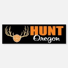 Hunt Oregon Bumper Bumper Bumper Sticker