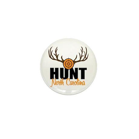 Hunt North Carolina Mini Button (100 pack)