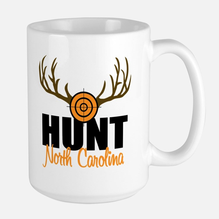 Hunt North Carolina Large Mug