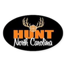 Hunt North Carolina Oval Decal