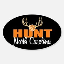 Hunt North Carolina Oval Decal