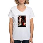 Accolade / Cairn Women's V-Neck T-Shirt