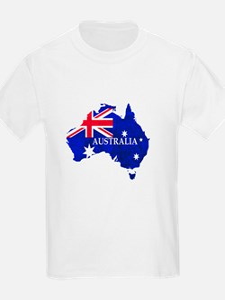 Australia flag Australian Country T-Shirt