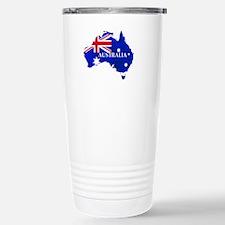 Australia flag Australi Travel Mug