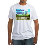 Home Sweet Trailer Fitted T-Shirt