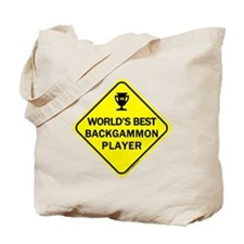 Backgammon Player  Tote Bag
