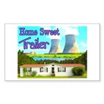 Home Sweet Trailer Rectangle Sticker