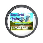 Home Sweet Trailer Wall Clock
