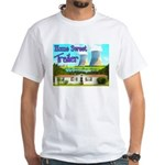Home Sweet Trailer White T-Shirt