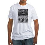 Sledding Fitted T-Shirt