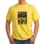 Sledding Yellow T-Shirt