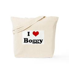 I Love Boggy Tote Bag