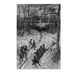 Sledding Postcards (Package of 8)
