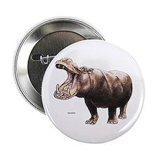 Hippo Hippopotamus Button