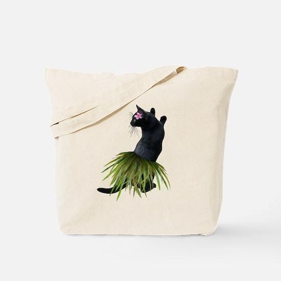 Hula Cat Tote Bag