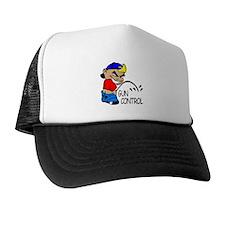 P On Gun Control Trucker Hat