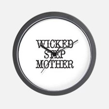 Wicked Step Mother Wall Clock