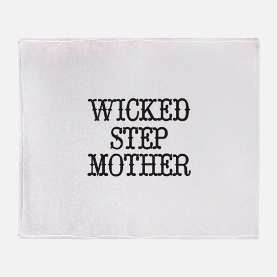 Wicked Step Mother Throw Blanket