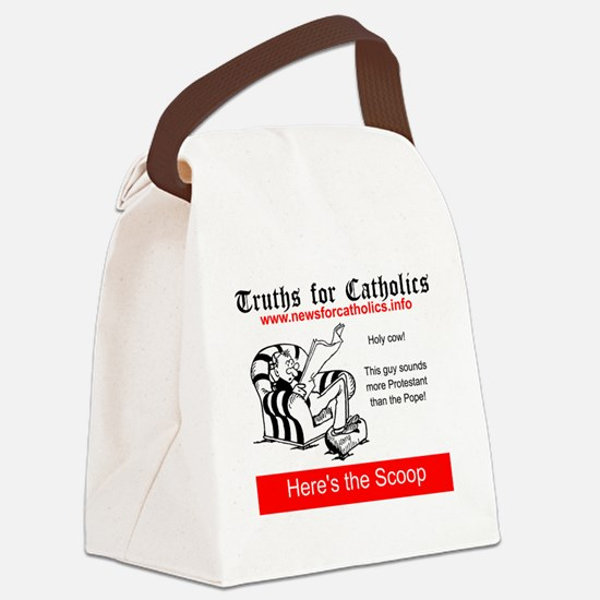 Protestantism Canvas Lunch Bag