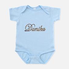 Gold Danika Body Suit