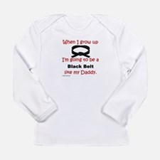 3-When I Grow Up -Daddy Long Sleeve T-Shirt