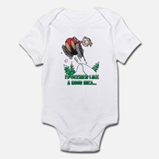 Funny Snowmobile Infant Bodysuit