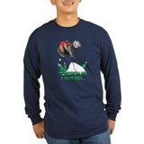 Snowmobile Long Sleeve T-shirts (Dark)