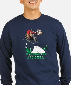 Funny Snowmobile T