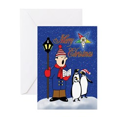OES Penguins Christmas Card