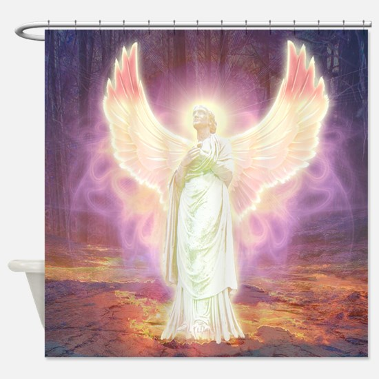 Angel Of God Shower Curtain