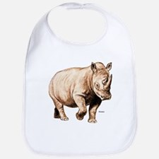 Rhino Rhinoceros Bib