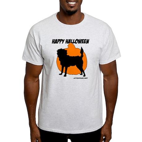 Affenpinscher Happy Halloween Light T-Shirt