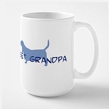 Basset Grandpa Mugs