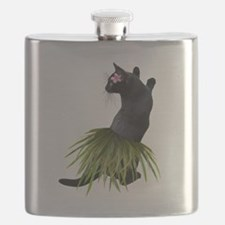 Hula Cat Flask