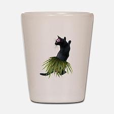 Hula Cat Shot Glass