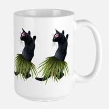 Hula Cat Mugs