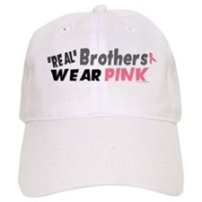"""Real"" Brothers Wear Pink 1 Baseball Cap"