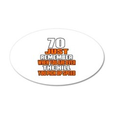 70 Just Remember Birthday De Wall Decal