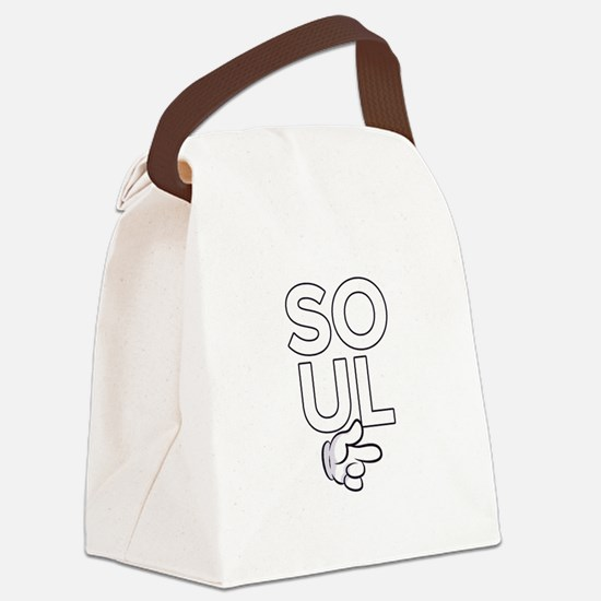 Soul Mate Canvas Lunch Bag
