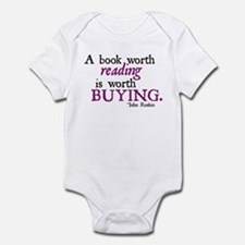 A Book Worth Reading... Infant Bodysuit