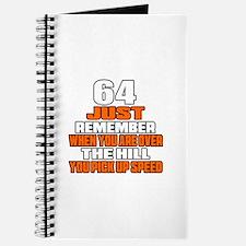 64 Just Remember Birthday Designs Journal