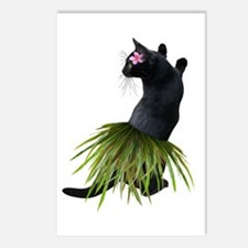 Hula Cat Postcards (Package of 8)