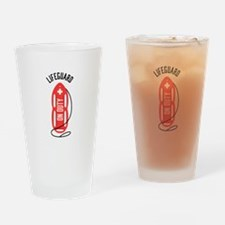 Lifeguard On Duty Drinking Glass