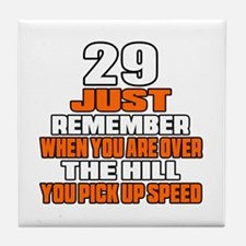 29 Just Remember Birthday Designs Tile Coaster