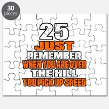 25 Just Remember Birthday Designs Puzzle