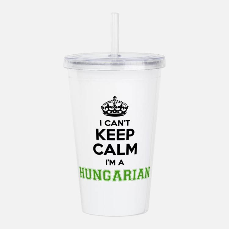 Hungarian I cant keeep Acrylic Double-wall Tumbler