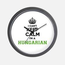 Hungarian I cant keeep calm Wall Clock