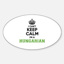 Hungarian I cant keeep calm Decal